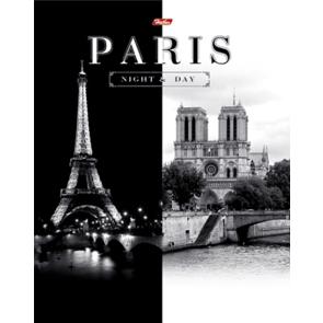 """Тетрадь 120л.кл.на кольц.HATBER, """"Париж"""" купить оптом и в розницу"""