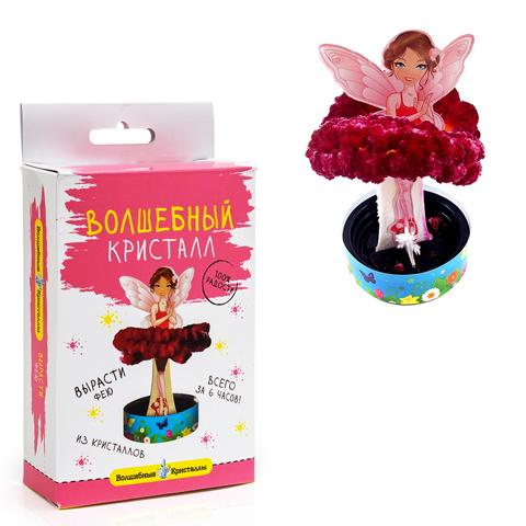 Набор ДТ Волшебные кристаллы Фея розовая CD-120 купить оптом и в розницу