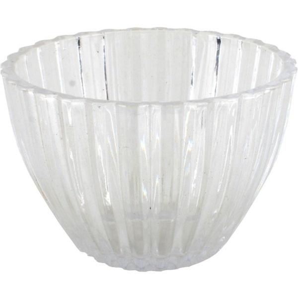Конфетница стеклянная, 11*8см. (1/24) купить оптом и в розницу