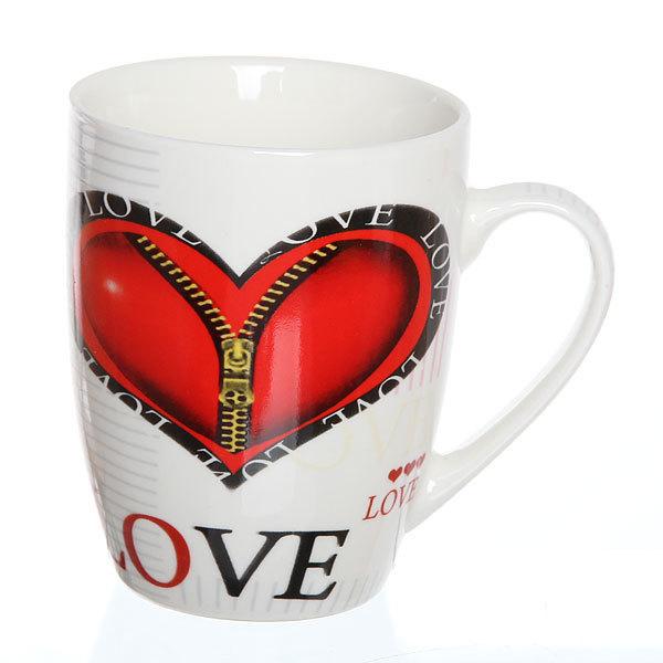 Кружка керамическая 330мл ″Любовь″ в коробке BPM055-G купить оптом и в розницу
