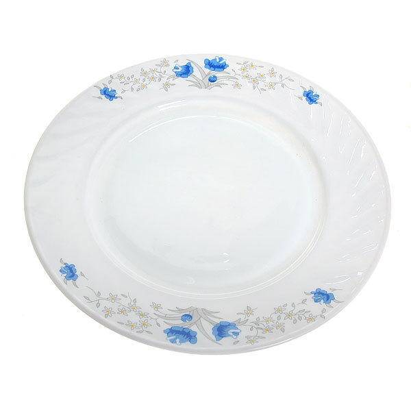 Тарелка 24см ″Цветы″ купить оптом и в розницу