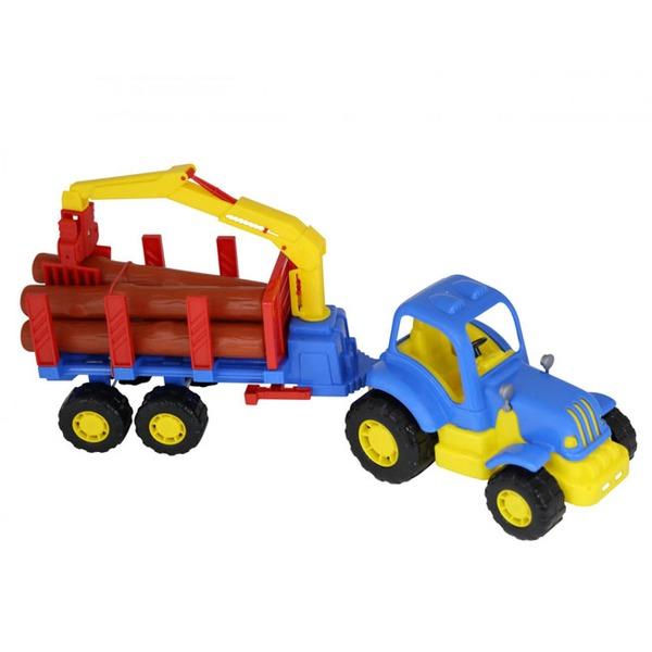 Трактор Крепыш с полуприцепом-лесовозом 44815 П-Е /6/ купить оптом и в розницу