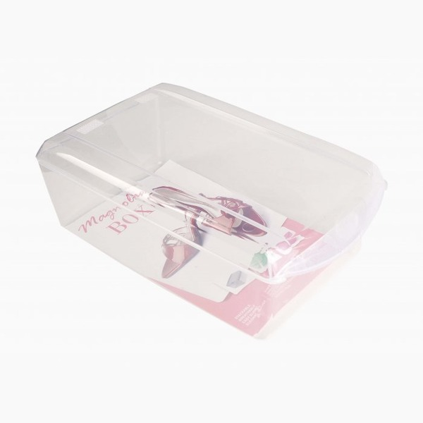 Ящик для хранения обуви прозрачный 360 x 210 x 128 купить оптом и в розницу