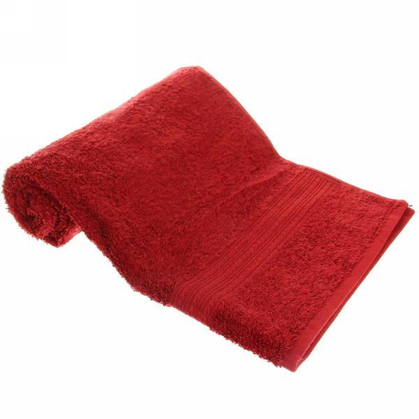 Махровое полотенце 50*90см шоколадное ЭК90 Д01 купить оптом и в розницу