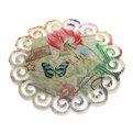 Подставка керамическая 16 см ″Кружево″ в ассортименте купить оптом и в розницу