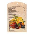 Доска разделочная сувенирная 18*30*0,8см ″Микс фруктов″ купить оптом и в розницу
