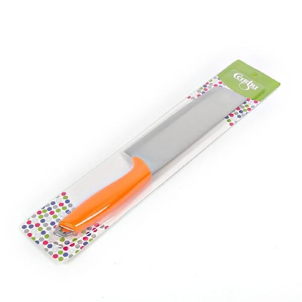Нож кухонный 17см топорик с пластиковой ручкой купить оптом и в розницу