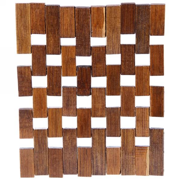 Подставка под горячее бамбуковая 15*16 см купить оптом и в розницу