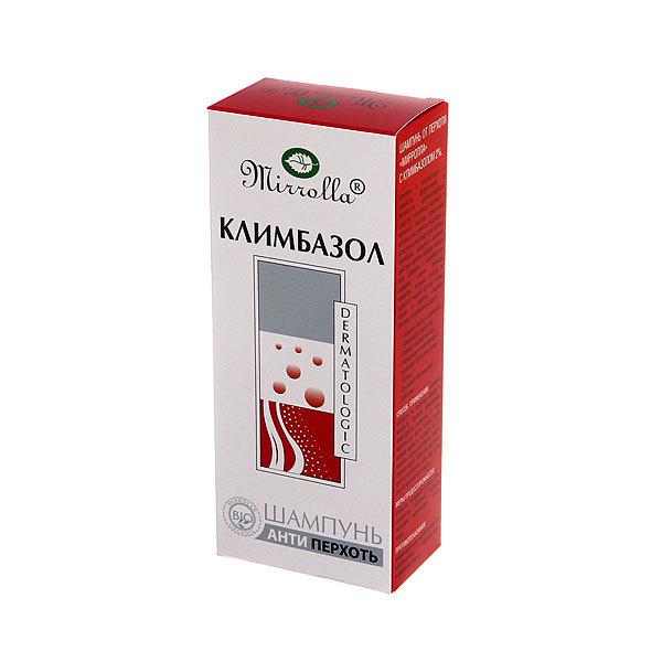Шампунь от перхоти «Mirrolla» с климбазолом 2% 150 мл купить оптом и в розницу
