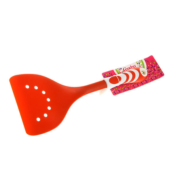 Лопатка кухонная широкая с дырками пластиковая ″Волна″ Селфи купить оптом и в розницу