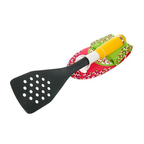 Лопатка кухонная с отверстиями пластиковая ″Радость″ Селфи купить оптом и в розницу