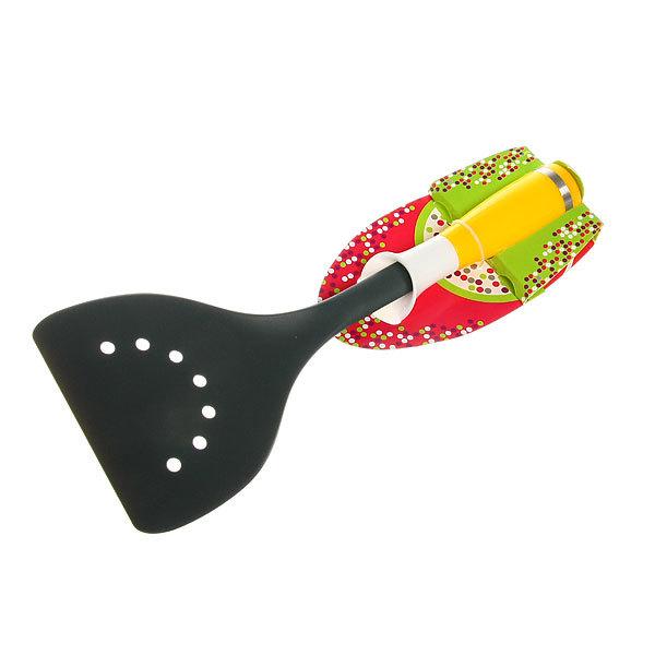 Лопатка кухонная широкая с отверстиями пластиковая ″Радость″ Селфи купить оптом и в розницу