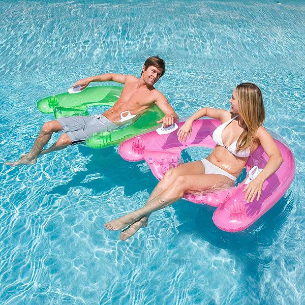Круг для плавания 152*99 см Sit'n Float Intex (58859) купить оптом и в розницу