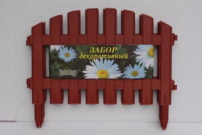 Забор декоративный № 2 (30*300) терракот 1/5 купить оптом и в розницу