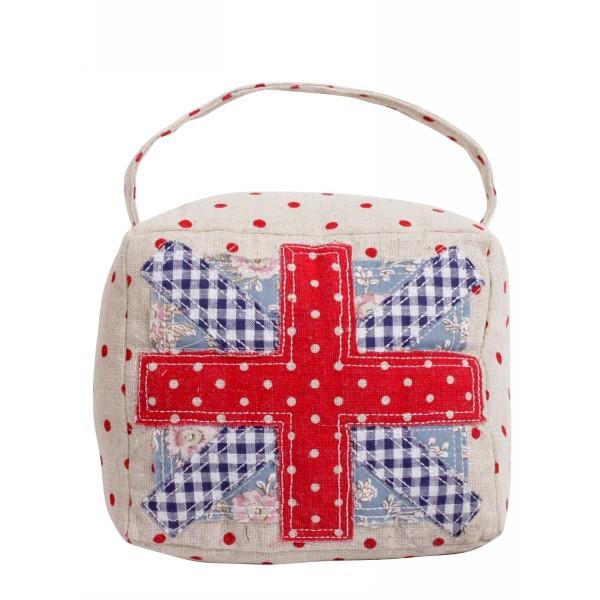 Подушка декоративная 15*13см ″Британский флаг″ купить оптом и в розницу