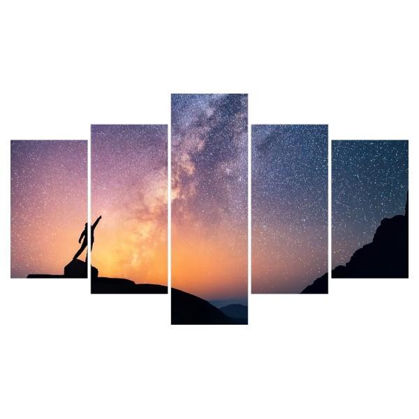 Картина модульная полиптих 75*130 Свобода диз.1 88-02 купить оптом и в розницу