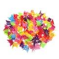 Заколка краб для волос 100шт глянцевые бабочки l-2см 385-13 купить оптом и в розницу
