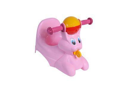 """Горшок-игрушка """"Зайчик"""" розовый *5 купить оптом и в розницу"""
