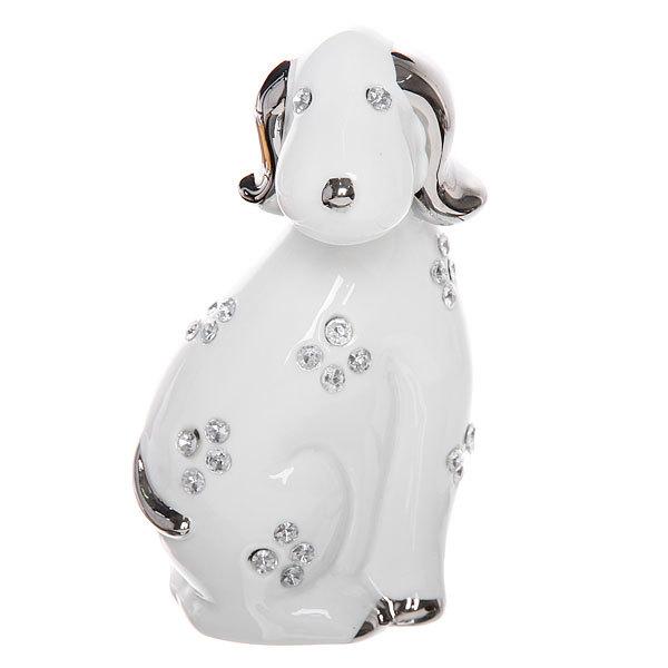 Статуэтка керамическая ″Собака″, 19см купить оптом и в розницу