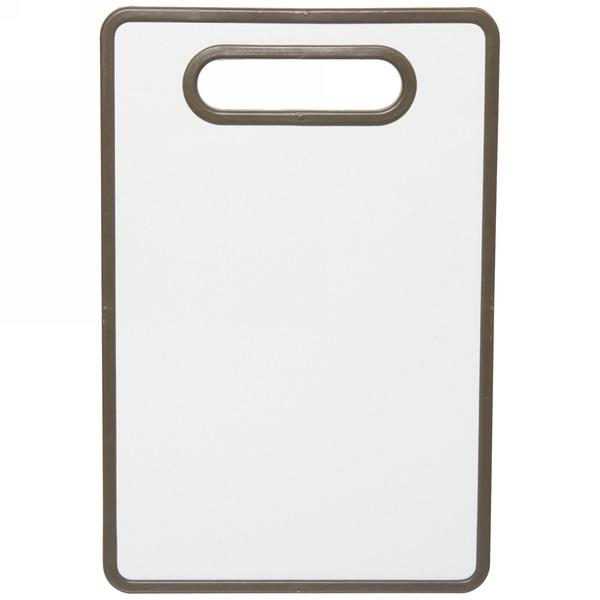 Доска разделочная пластиковая ″Кофе″ 30*20*1,3см купить оптом и в розницу