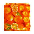 Скатерть ″Летнее настроение″ 120*150см, апельсины Ультрамарин купить оптом и в розницу