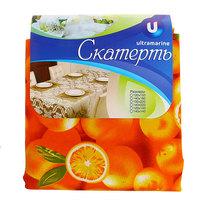 Скатерть ″Летнее настроение″ 150*220см, апельсины Ультрамарин купить оптом и в розницу