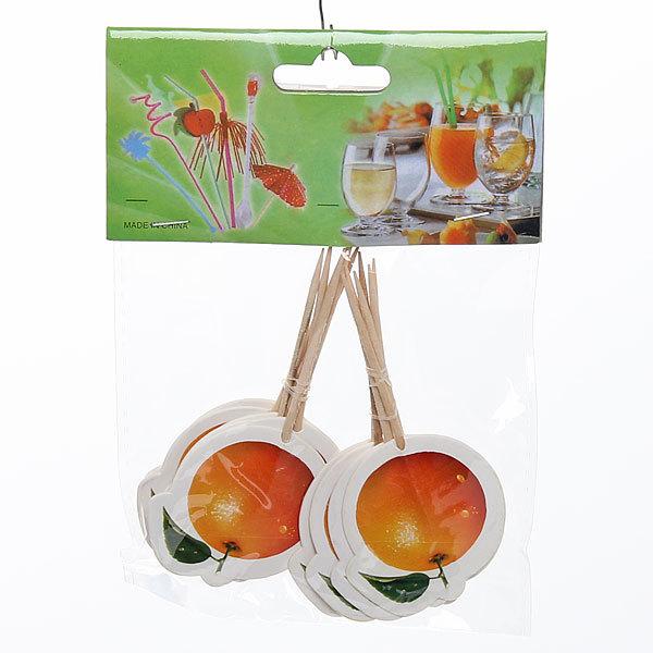 Шпажки в наборе 12 шт ″Апельсин″ купить оптом и в розницу