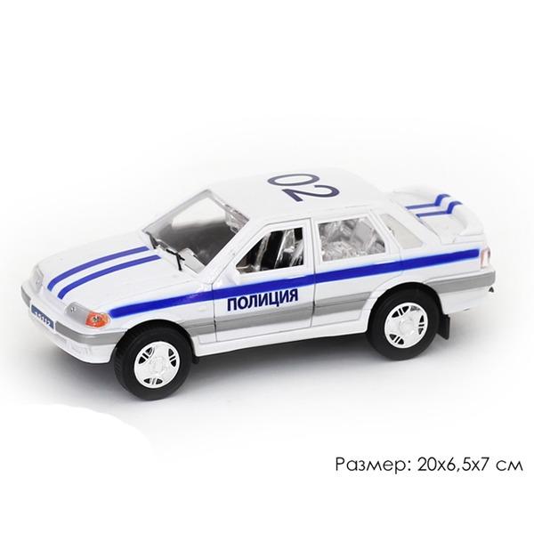 Машина инерц. 11001АПР Полиция в пак. купить оптом и в розницу