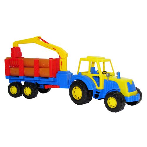 Трактор Алтай с полуприцепом лесовозом 35370 П-Е /6/ купить оптом и в розницу