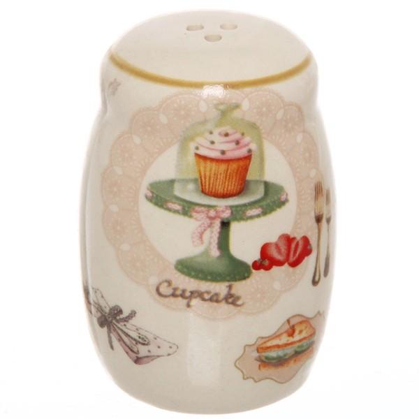 Набор для специй на подставке 5 шт ″Кекс″ (2 специи, 2соусника, сахарница) купить оптом и в розницу