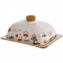 Масленка керамическая ″Кекс″ 141318 купить оптом и в розницу