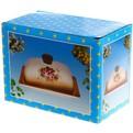 Масленка керамическая ″Розы″ 550486-2 купить оптом и в розницу