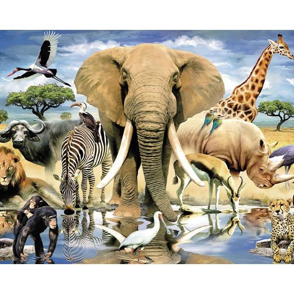 Пазл 1500 В мире животных 83042 Степ /9/ купить оптом и в розницу