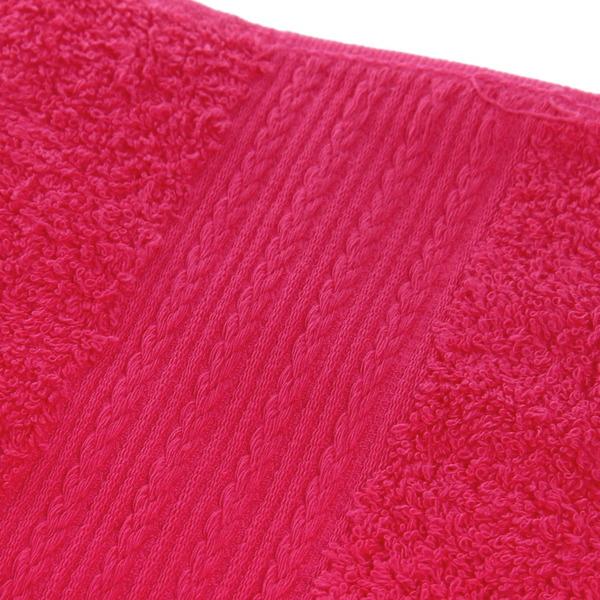 Махровое полотенце 70*140см малиновое ЭК140 Д01 купить оптом и в розницу