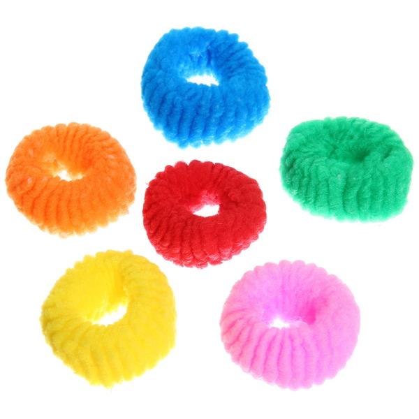 Резинки для волос 12шт ″Классика″, цвет микс купить оптом и в розницу
