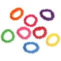 Резинки для волос 100шт ″Эстетика - гофре″, цвет микс купить оптом и в розницу