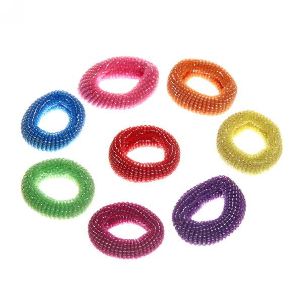 Резинка для волос 100шт 430-26 купить оптом и в розницу