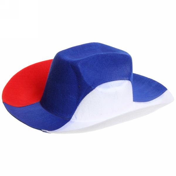 Шляпа фанатская ″Триколор″ купить оптом и в розницу
