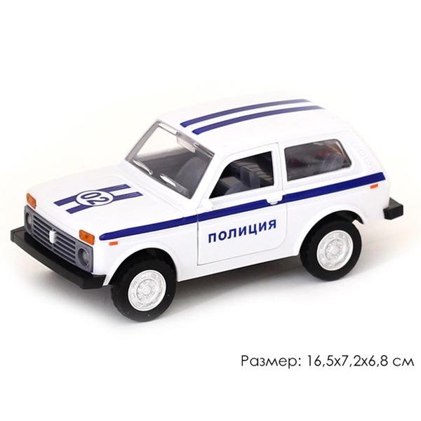 Машина инерц. 10703АПР Джип Полиция в пак. купить оптом и в розницу