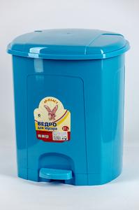 Ведро для мусора с педалью 21 л. 1/4 купить оптом и в розницу