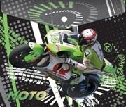 Папка д/тетр.1отдел.на кноп. А5 Limpopo Мотоцикл, пласт. купить оптом и в розницу