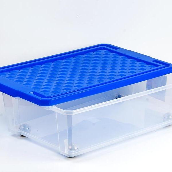 """Ящик дляхранения """"X-BOX"""" 30л на роликах*8 купить оптом и в розницу"""