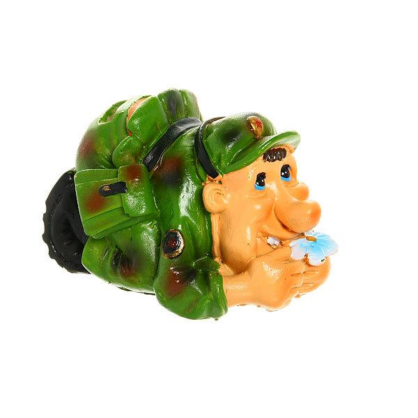 Сувенир-копилка ″Военная служба″ В засаде 12*8см 1031 купить оптом и в розницу