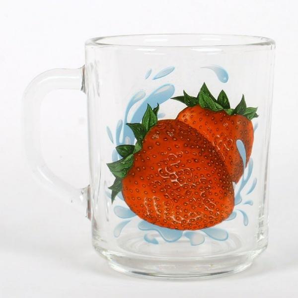 Кружка Чайная 200мл. Зеленый чай ПЕРСИК К(20/20) купить оптом и в розницу