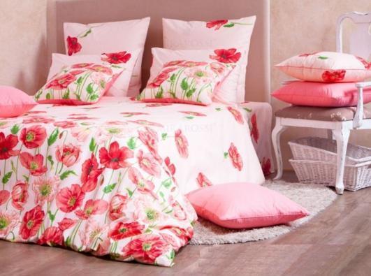 Евро перкаль-люкс Carolina pink 3003/1 Хлопковый Край купить оптом и в розницу