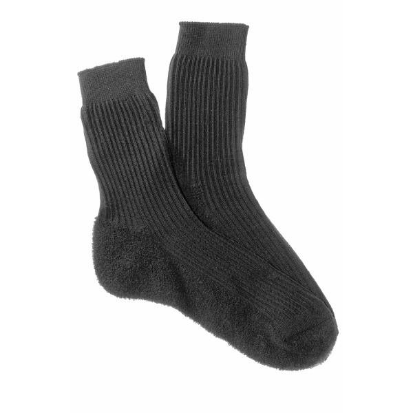 Носки мужские теплые НОГИНКА (С-29, махровый след), хлопок 80%, черный, р. 29 купить оптом и в розницу