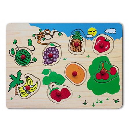 Дер. Рамка-вкладыш Фрукты и ягоды П-9744 купить оптом и в розницу