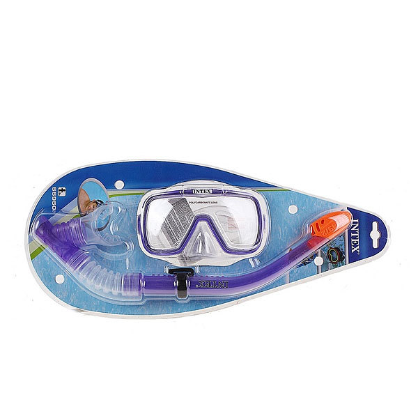 Набор для подводного плавания Wave Rider: маска,трубка Intex (55950) купить оптом и в розницу