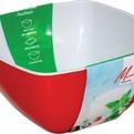 """Салатник двухцветный """"RioRita"""" 140*140 мм 1/40 купить оптом и в розницу"""