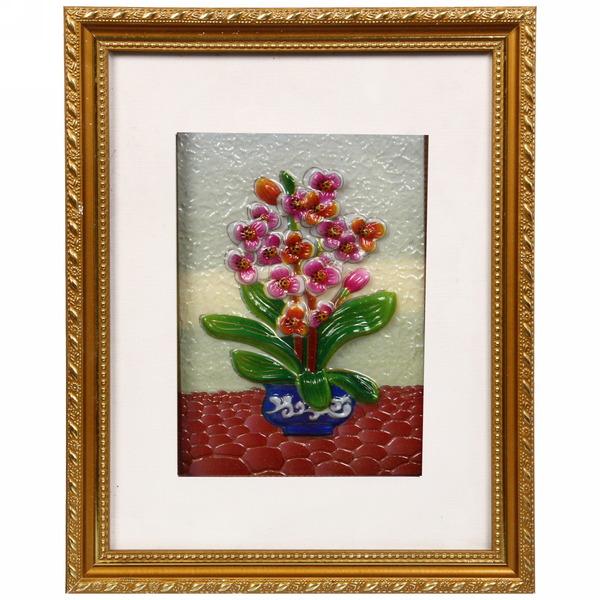 Картина объемная ″Орхидея″ 29*35 см купить оптом и в розницу